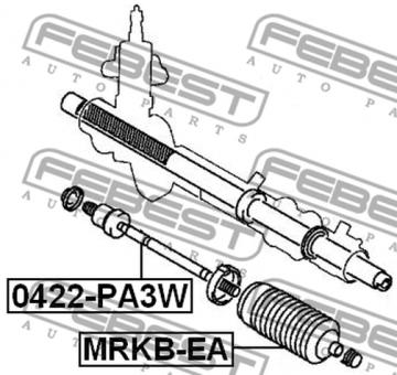 0422-PA3W SPURSTANGE OEM zum Vergleich: MR151970 Modell