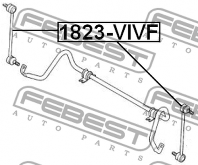 1823-VIVF FRONT STABILIZER LINK OEM to compare: 54616