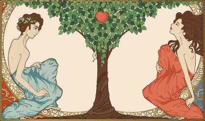 Adão, Eva e a maçã