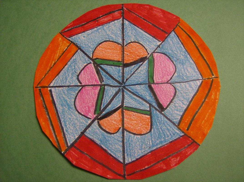 5th Grade 3 Radial Balance