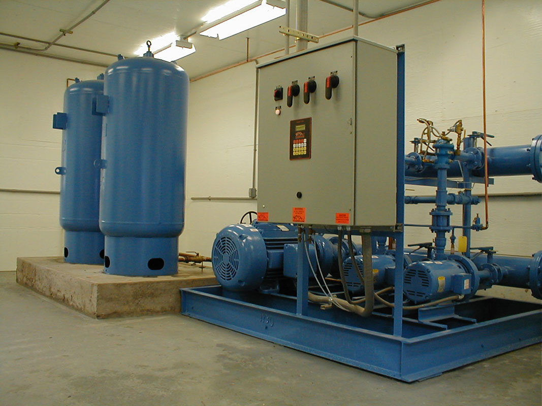 Various Water Booster Skids NJNY  Reiner Pump Systems