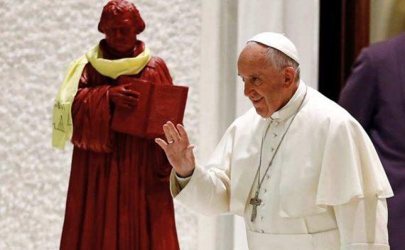 Luther Vaticano diócesis sello invita protestante Pescara