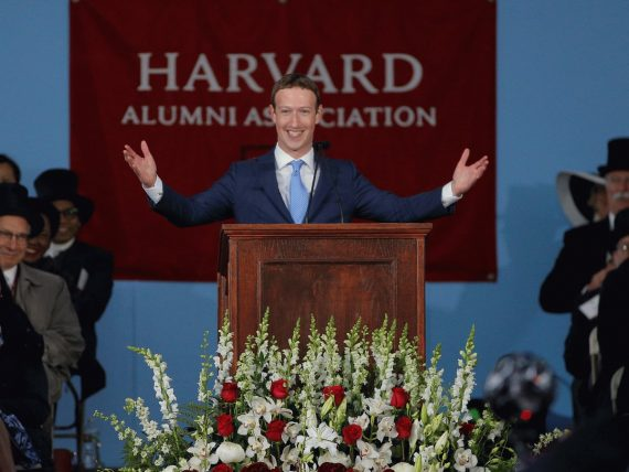 Mark Zuckerberg préconise revenu universel base vie pleine sens