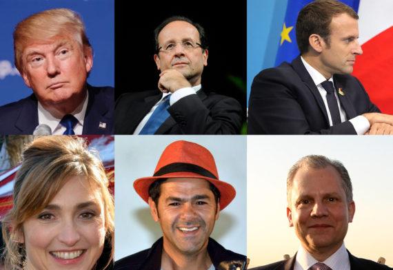 Politique Change mondialiste Trump Hollande Macron Gayet Debbouze Sulzberger