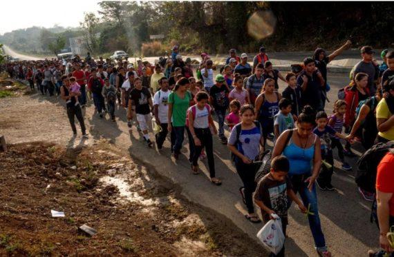 Trump Peuple Frontières Migrants Colonnes Infernales