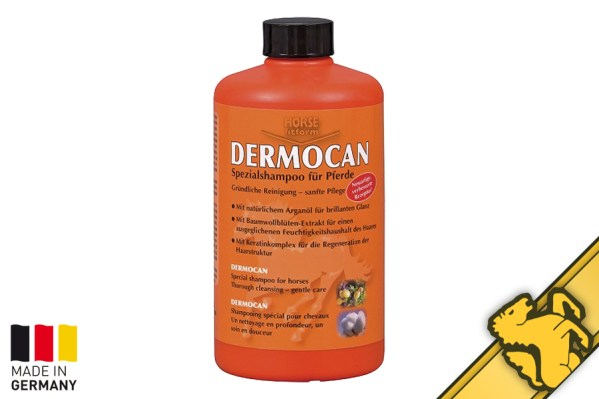 dermocan german horse shampoo natural