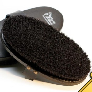 horse brush made in germany black horsehaus
