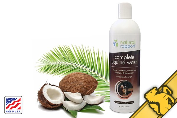 aspire natural equine wash