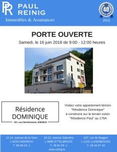 Journée porte ouverte résidence «DOMINIQUE»