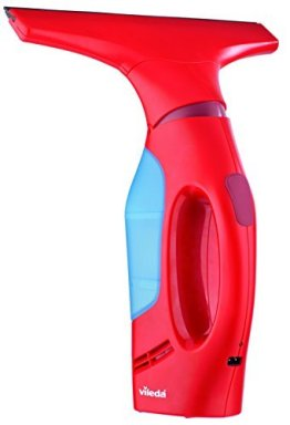 Vileda Windomatic Fenstersauger mit flexiblem Kopf für streifenfreie Fenster -