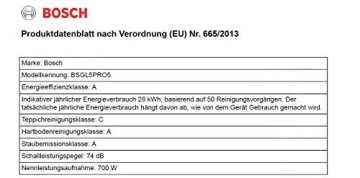 Bosch BSGL5PRO5 Bodenstaubsauger Home Professional (EEK A mit Beutel, QuattroPower System, Gewebeschlauch, 15 m Aktionsradius), titanium -