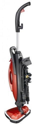 Dampfreiniger Melissa 3in1 Dampfbesen für den Haushalt Dampfmob zur Boden-Reinigung mit Fenster-Reinigungs Set -