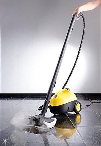 Sichler Haushaltsgeräte Multifunktions- & Boden-Dampfreiniger mit 12-tlg. Zubehörset, 1.500 W -