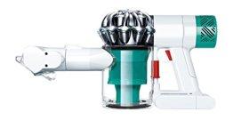 Dyson V6 Mattress kabelloser Matratzensauger (Entfernt Allergene aus Matratzen, Hocheffiziente Filtration, inkl. Zubehör) weiß/petrol -