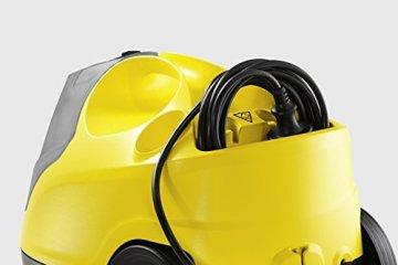 KÄRCHER Dampfreiniger SC 4 1.512-405.0 inkl. Borstenkranzset 2.863-058.0 und hochwertigem Microfasertuch -