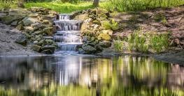 Teichpumpe für Wasserfall