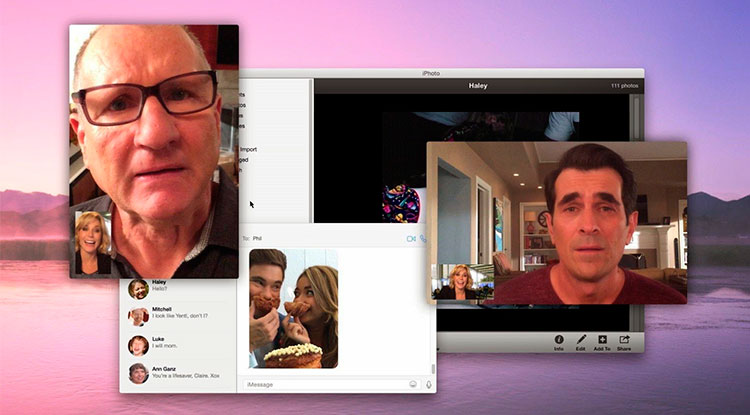 Modern Family apple ordenadores