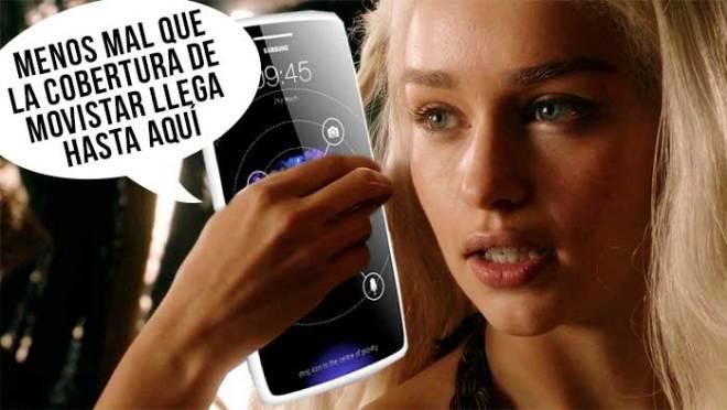 """La Khaleesi, promocionando el Galaxy S9 con pantalla de 15"""""""