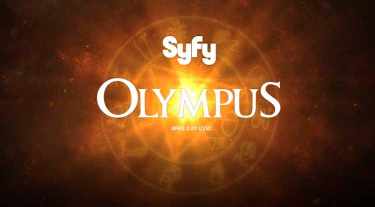 Olympus serie syfy logo