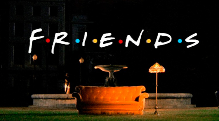 Friends, reina de la comedia