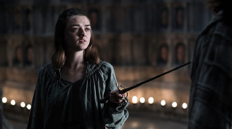 Arya Game of thrones 6x08
