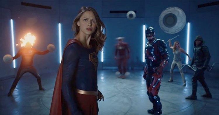 superhéroes de the cw