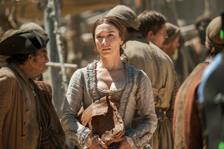 Louise Barnes es Miranda Barlow en Black Sails