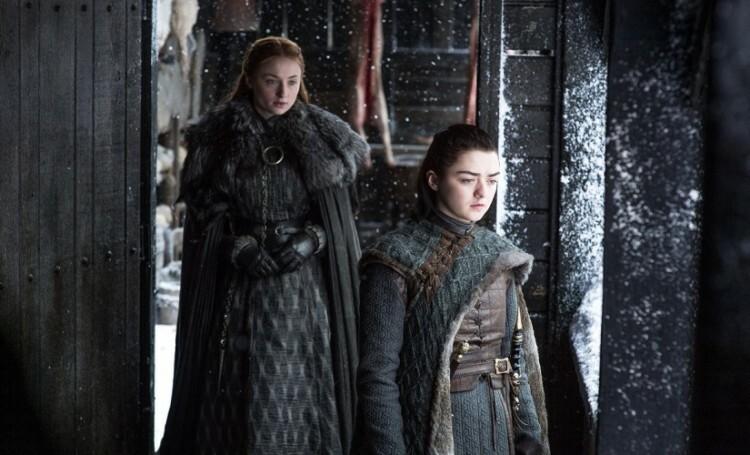 Arya y Sansa juntas por fin