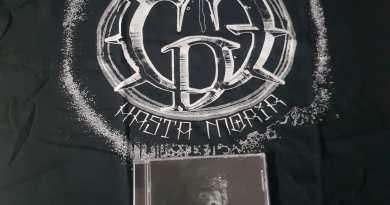 Sorteo camiseta de  la talla L y el último cd de Cenizas del Edén