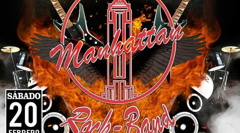 MANHATTAN ROCK BAND (20-02-2021 Sala Opción de Pinto, Madrid)