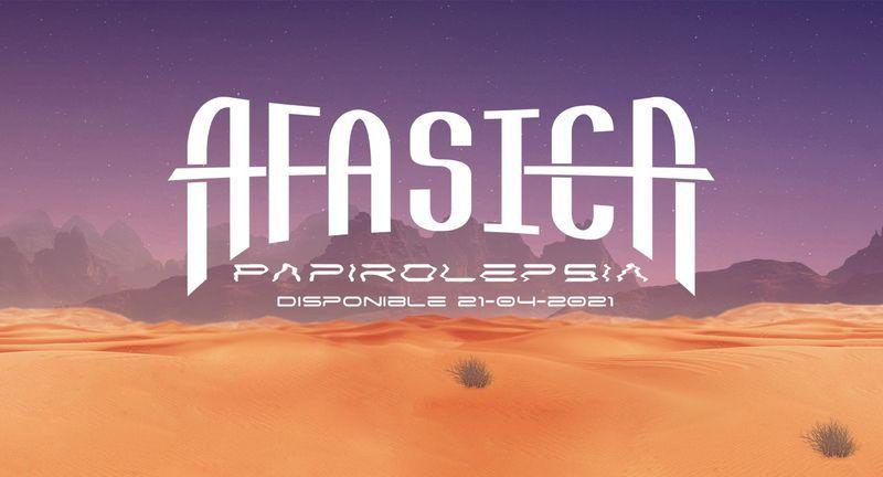 AFÁSICA presenta nuevo LP, Papirolepsia