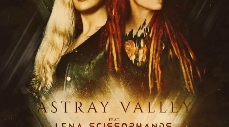 """ASTRAY VALLEY desvelan portada y fecha de lanzamiento de su nuevo single """"Erased"""" con la colaboración de Lena Scissorhands (Infected Rain)"""