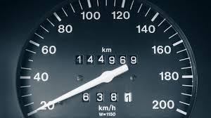 compteur trafiqué d'un véhicule en vente