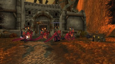 Lyaonas, Mandamn, Keroneko, Archmichaels and I with our Crimson Cloud Serpents