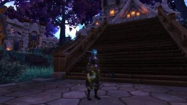 Winterwolf's Feral Druid transmog for Zelay
