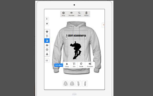 Plugin diseñador de camisetas y sudaderas para WooCommerce 9ba27b940ad57