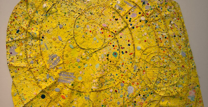 Hole-punched by Howardena Pindell