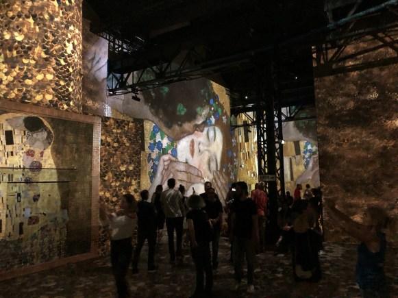 Gustav Klimt at Atelier des Lumières, Paris - G. Iannuzzi, R. Gatto, M. Siccardi