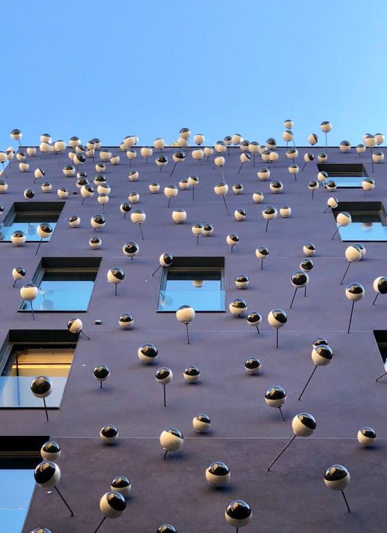 Frederic Amat, Mur d'Ulls (2011), Hotel Ohla, Barcelona