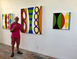 The True Colors of Kim MacConnel – Artist Studio Visit