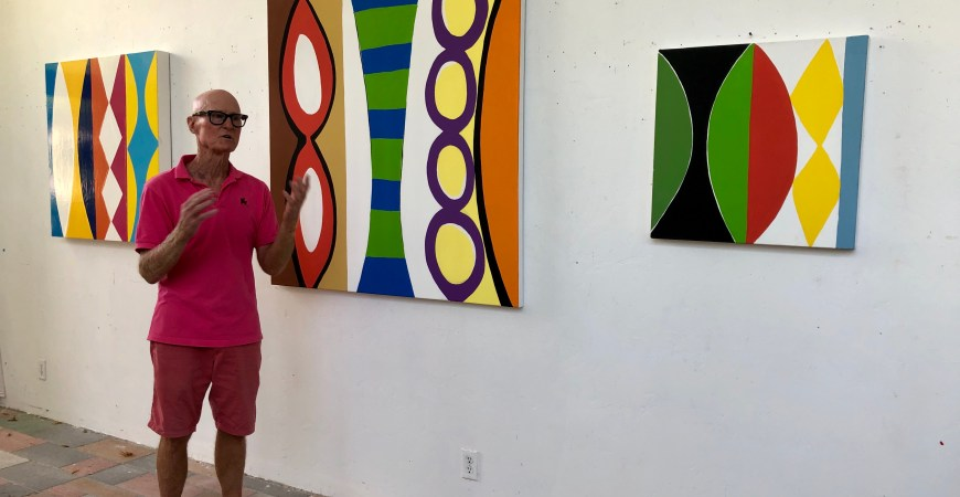 The True Colors of Kim MacConnel – Artist Studio Visit