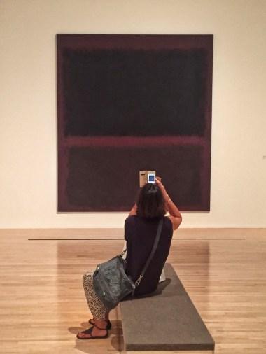 Mark Rothko, Black on Dark Sienna on Purple, 1960, MOCA