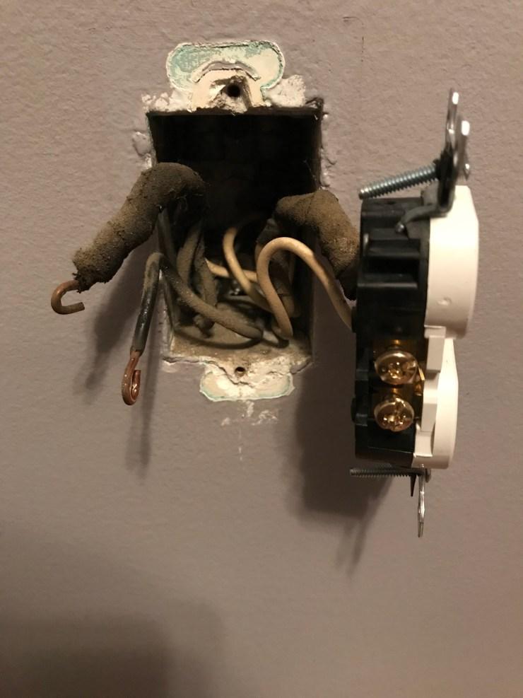 Unscrew Black Wires
