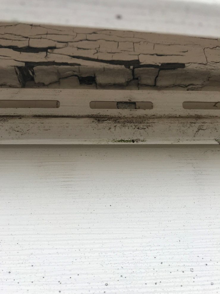 Siding Removed From Nail