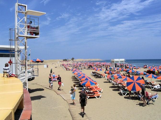 Gran Canaria strand Maspalomas