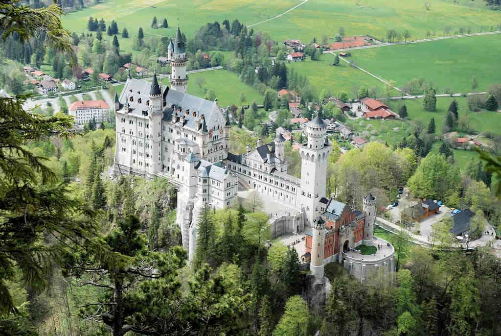 Schloss Neuschwanstein, Duitsland, Beieren