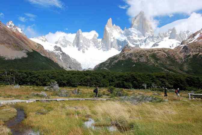 Los Glaciares National Park, El Chaltén, Argentinië