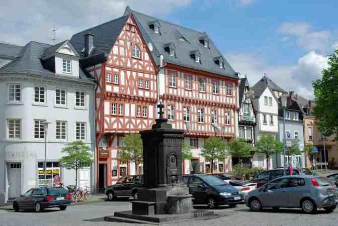 Boppard am Rhein, vakwerkhuizen