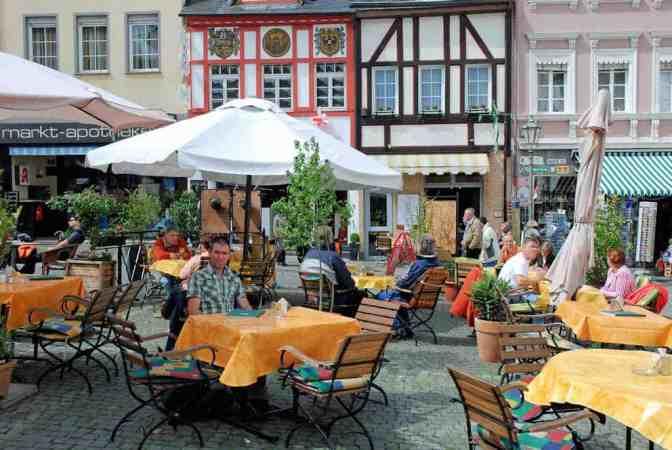 Boppard am Rhein, vakwerkhuizen, Rijnland-Palt