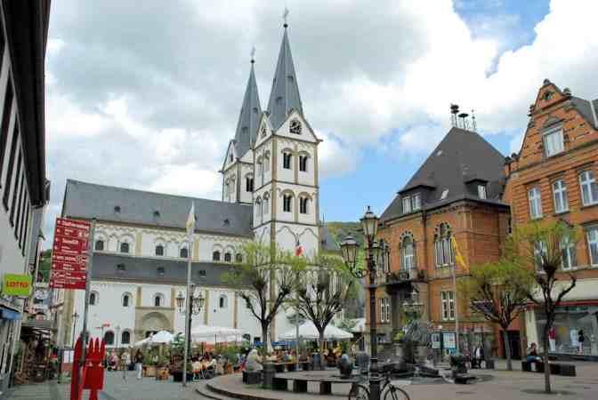 Boppard am Rhein, Sint-Severusbasiliek,